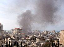Fighting between Hamas and Fatah in Gaza City (photo: AP)