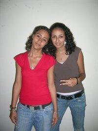 Moroccan rap duo Tigresse Flow: Maria and Sofia (photo: Thilo Guschas)
