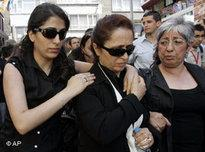 Rakel Dink, her daughter Delal and Fethiye Cetin (photo: AP)