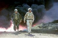 British soldiers during Operation Desert Storm, 1990 (photo: AP)