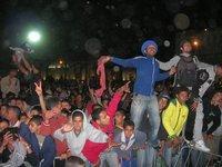 Audience crowd in Essaouira (photo: Daniel Siebert)