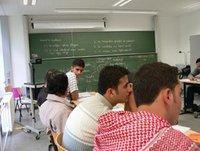 Students of the German-Jordanian University on a visit in Cottbus, Germany (photo: German-Jordanian University)