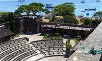 The auditorium of the Arabic fort in Stone Town, Zanzibar (photo: Detlef Langer)
