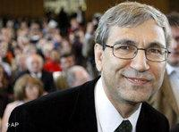 Orhan Pamuk in Berlin, Germany (photo: AP)