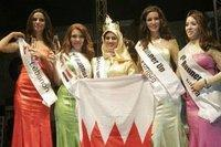 The finalists of the Miss Arab World 2007 competition (photo: Hanan Nasr)