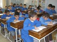 Armenian school in Aleppo, Syria (photo: Charlotte Wiedemann)