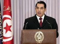 Tunisian president Zine El Abidine Ben Ali (photo: AP)