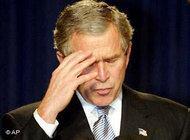 George Bush, commander of America's war on terror (photo: AP)