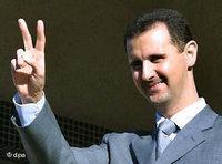 Syrian president Ashar al-Bassad (photo: dpa)
