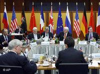 United Nations meeting with the German government in Berlin (photo: AP)