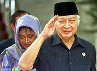 Indonesian dictator Suharto (photo: AP)