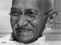 Mahatma Gandhi (photo: AP)