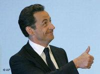 French President Nicholas Sarkozy (photo: AP)