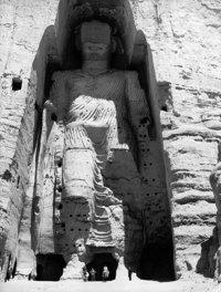 Statue of a Bamiyan Buddha 1963 (photo: © UNESCO)
