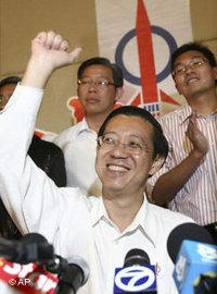 Lim Guan Eng, Secretary-General of the opposition party DAP (photo: AP)