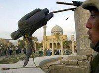 Saddam Hussein's statue is brought down (Photo: AP/Jerome Delay)