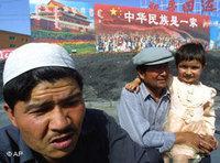 Uighurs in Korla (Photo: dpa)