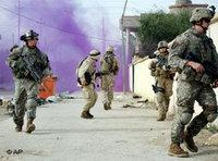 U.S. Marines on patrol in Ramadi (Photo: AP)