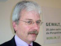 Dr. David Bloomfield, Glencree Centre for Peace and Reconciliation, Irland (photo:&copy Ariana Mirza)