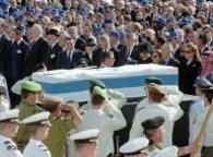 Rabin's funeral (photo: AP)