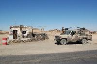 Military checkpoint in Yemen (photo: Philipp Schweers)