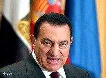 Egypt's President Hosni Mubarak (photo: dpa)