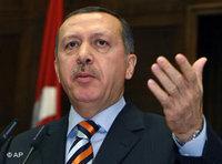 Turkey's Prime Minister R. Erdogan (photo: AP)