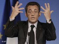 France's President Nicolas Sarkozy (photo: AP)