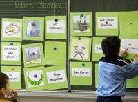 Islam lesson in a German classroom (photo: AP)
