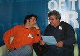 Etgar Keret, left, and Samir El-Youssef (photo: onejerusalem.com)