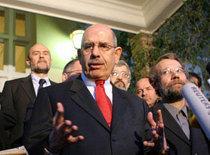 Mohamed ElBaradei, head of the International Atomic Energy Agency (photo: AP)