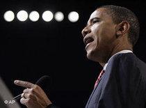 Democratic presidential candidate Barack Obama (photo: AP)