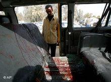 Pilgrims died on their way to the Ashura festival in Baghdad (photo: AP)