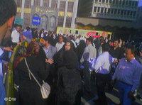 Demonstration on June 12, 2006 (photo: DW/ Maryam Ansary)
