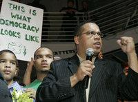 Keith Ellison after his election to the US-congress in 2006 (photo: AP)