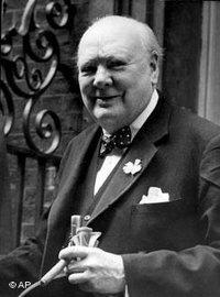 Winston Churchill in Downing Street 10 in 1953 (photo: AP)