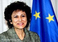 Irene Khan, Secretary General of Amnesty International (photo: dpa)