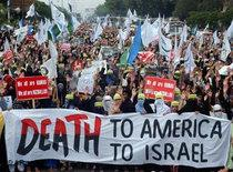 Demonstration against the US and Israel in Pakistan (photo: AP)