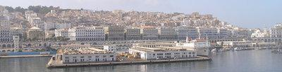 Algiers as seen from the waterfront (photo: Damien Boilley)