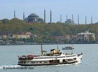 View over the Bosporus (photo:dpa)