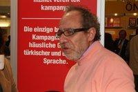 Mario Levi at the Frankfurt Book Fair (photo: Hülya Sancak)