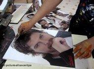 Poster of the actor Kivan Tatliu (photo: dpa)