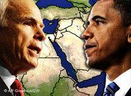 Barack Obama and John McCain (image: AP/DW)