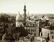 View of Cairo by Pascal Sébah (photo: collection Thomas Walther)