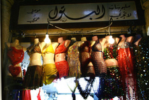 Shop for women's clothing in Damascus, Syria (photo: Reine Mahfouz)