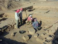 Excavations at the Roman castle Qreiye in Syria (photo: DAI)