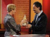 Feridun Zaimoglu at the Corine Award Ceremony (photo: Corine.de)
