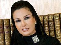 Sheikha Mouza bint Nasser al-Missned (photo: AP)