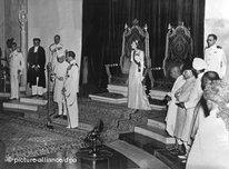 Transfer of power in India. Midnight, 15 August 1947 (photo: dpa)
