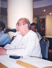 Asghar Ali Engineer (photo: AMAN)